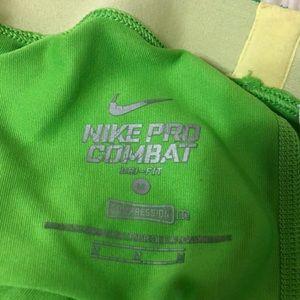 Nike Shorts - Nike lime green spandex shorts